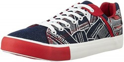 Superman Men's Black and Red Sneakers - 10 UK/India (45 EU)