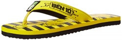 Ben10 Boy's Flip Flop Yellow Synthetic Flip-Flops and House Slippers - 6C UK/25 EU