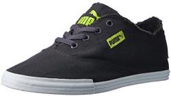 Puma Men's Puma Streetsala Idp Asphalt, Lime Punch and Puma Black Sneakers - 10 UK/India (44.5 EU)