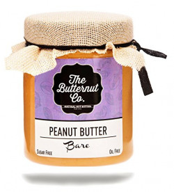 The Butternut Co. Unsweetened Peanut Butter 220 Gms