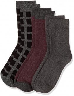 Symbol Men's Calf Socks (Pack of 3)