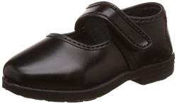Bata Boy's Nova Ballerina Black Formal Shoes - 7 kids UK/India (25 EU) (1116289)