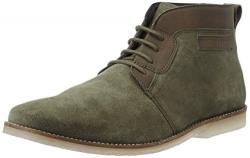 Bata Men's Green Boot -6 Uk/India (40 Eu)
