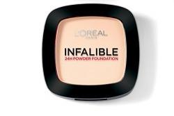 L'Oreal Paris Infallible 24Hr Compact Powder, Sand Beige 160, 9g