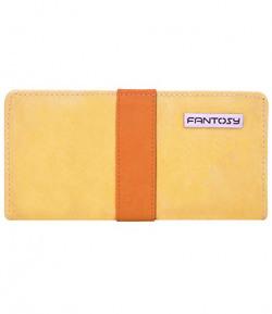 fantosy women wallet (Beige and Tan) (FNWC-164)