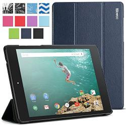 Poetic Slimline Folio Case For Google Nexus 9 [Navy Blue]