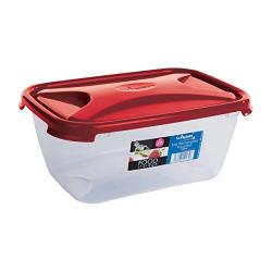 Wham Cuisine Rectangular Food Storage Plastic Box Container, 3.6 Litre, Red