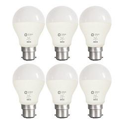 Orient Electric B22 7-Watt LED Bulb (Pack of 6, CDL White)
