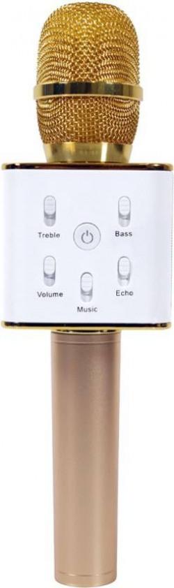 Padraig Q7 Handheld Wireless Bluetooth Karaoke Singing Mic Speaker Player Microphone