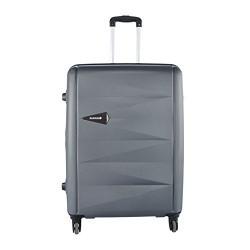 Safari Polycarbonate 54 cms Grey Hardsided Suitcase (DrawExpandable-55-Gunmetal-4wh)