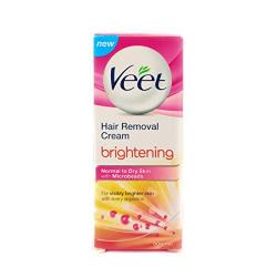 Veet Brightening Hair Removal Cream - 50 g (Normal to Dry Skin)