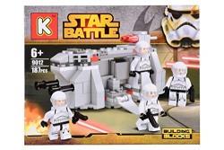 Planet Of Toys Lego Star Battle Building Blocks - 187 Pieces For Kids / Children
