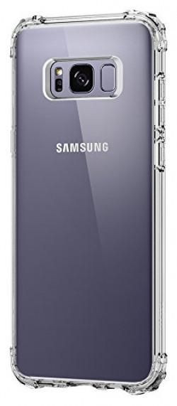Samsung Galaxy S8 Plus Case, Spigen Crystal Shell Case for Galaxy S8+ / Galaxy S8 Plus - Clear Crystal 571CS21119
