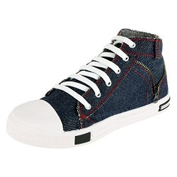 Maddy Top Quality Blue High Neck Casual Shoes For Men's In Various Sizes