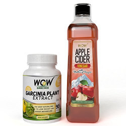 WOW Garcinia Cambogia with free WOW Apple Cider Vinegar