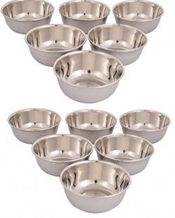 Classic Essentials stainless steel veg bowl set of 12pcs
