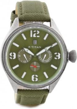 Titan 9478QF03J Purple Analog Watch - For Men