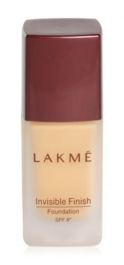 Lakme Invisible Finish SPF 8 Foundation, Shade 04, 25 ml