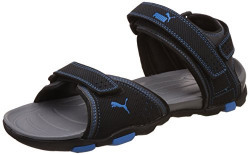 Puma Men's Helium IDP Black and Blue Aster Athletic & Outdoor Sandals - 8 UK/India (42 EU)
