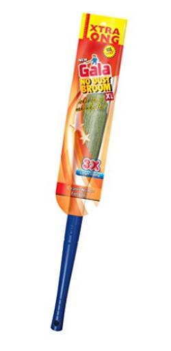 Gala No Dust Broom XL with long handle (Multicolor)