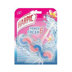 HarpicPower Fresh 6 Toilet Rim Block Floral - 39g