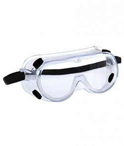 3M 1621 Polycarbonate Safety Goggles for Chemical Splash, Pack of 1