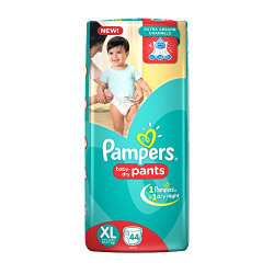 Pampers Extra Large Size Diaper Pants (44 Count)