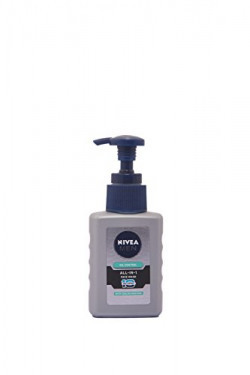 Nivea Men Oil Control All In One Face Wash Pump, 65ml