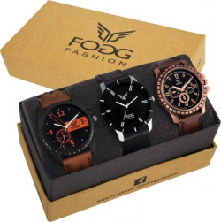 FOGG 7004-Gents Superior Combo Modish Analog Watch - For Men