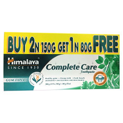 Himalaya Herbals Complete Care Toothpaste - 150 g (Buy 2 and Get 1 Free Worth Rupees 80 g)
