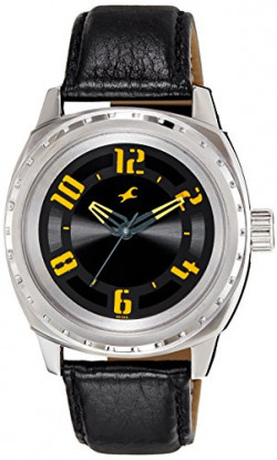 Fastrack His & Hers Upgrades Analog Black Dial Unisex Watch - 3071SL03