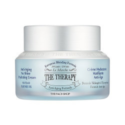 The Faceshop the Therapy Anti Aging No Shine Hydrating Cream, 50ml