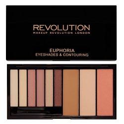 Makeup Revolution Euphoria Palette Bare Euphoria, 18g