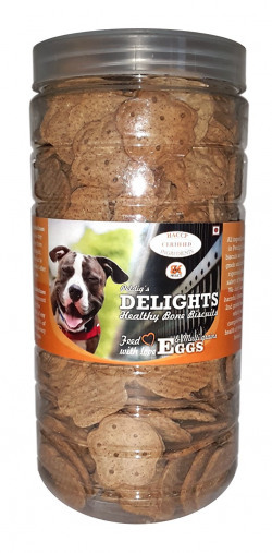 PetDig Delights Eggs with Multigrains Dog Biscuits, 820g