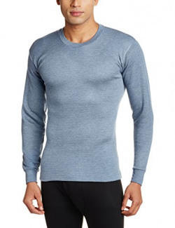 Rupa Thermocot Men's Cotton Thermal Top (8903978490489_AGNI R-N F-S -75_Blue)