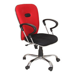 KS Trader Manager Series Chair (Red)