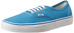 Vans Unisex Authentic (Canvas) Cendre Blue and True White Sneakers - 11 UK/India (46 EU)