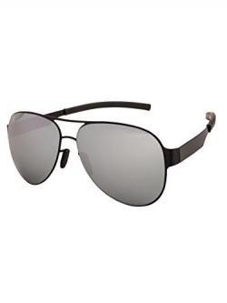 Farenheit Aviator Sunglasses |FA-P8004-Silver Mirror|