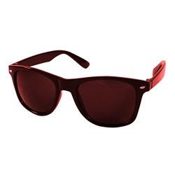 Silver Kartz Wayfarer Unisex Sunglasses(Eco-002 50 Dark Brown)