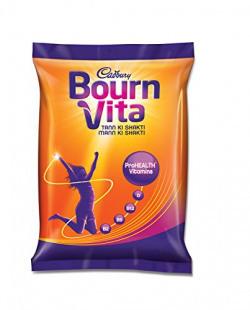 Bournvita Pro Health Chocolate Drink Pouch - 75 g