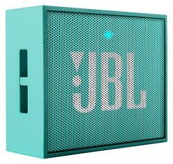 JBL GO Portable Wireless Bluetooth Speaker W/ A Built-In Strap-Hook (Teal)