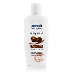 Healthvit Bath and Body Argan Bodywash, 200ml