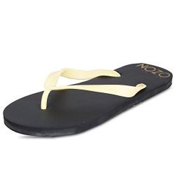 SCATCHITE Men's Black Flip-Flops & House Slippers (9)
