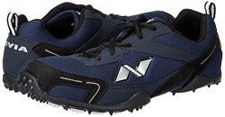 Nivia Men's Marathon Mesh PU Blue and Black Running Shoes - 6 UK
