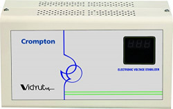 Crompton ACG-150VAC 4000-Watt Voltage Stabilizer (Ivory)