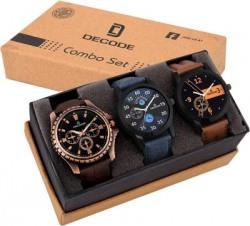 Decode Combo of 3 Exclusive watches Analog-Digital Watch - For Men