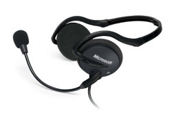 Microsoft LX-2000 LifeChat Headset (Black)