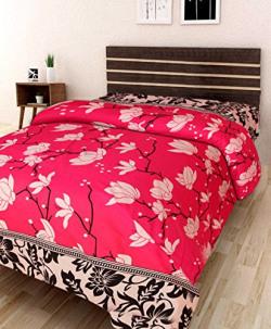 IWS 3D Printed 160 TC Polycotton Single Bedsheet Starting at Just Rs.165