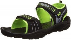 Lotto Men's Navy/Lime Sandals and Floaters - 9 UK/India (43 EU)