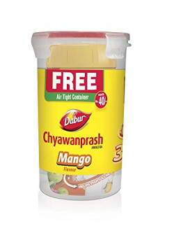 Dabur Chyawanprash Mango Flavour (Free Air Tight Container) - 500g